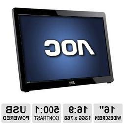 AOC USB-Powered Portable LED Monitor, 16-Inch