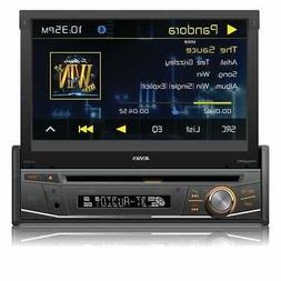 Jensen VX3518 7 Inch Flip Out DVD Receiver with Bluetooth