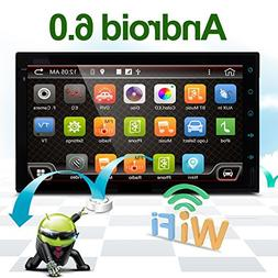 """Best WiFi Model Android 6.0 Quad-Core 7"""" Full Touch-Screen U"""